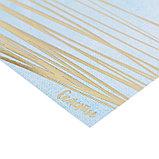Бумага для скрапбукинга с фольгированием «Счастье в каждом дне», 15.5 × 15.5 см, 250 г/м, фото 2
