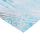 Бумага для скрапбукинга с фольгированием «Будь счастлив», 20 × 20 см, 250 г/м, фото 2