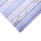 Бумага для скрапбукинга с клеевым слоем «Доски», 20 × 21,5 см, 250 г/м, фото 2
