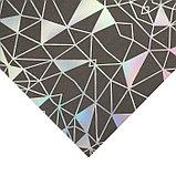 Бумага для скрапбукинга с голографическим фольгированием «Метаморфозы», 20 × 21.5 см, 250 г/м, фото 2