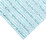 Бумага для скрапбукинга с клеевым слоем «Бирюзовая нежность», 20 × 21,5 см, 250 г/м, фото 2