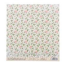 Бумага для скрапбукинга с клеевым слоем «Мгновение весны», 20 × 21,5 см, 250 г/м