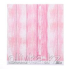 Бумага для скрапбукинга с клеевым слоем «Жизнь в розовом цвете», 20 × 21,5 см, 250 г/м