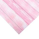 Бумага для скрапбукинга с клеевым слоем «Жизнь в розовом цвете», 20 × 21,5 см, 250 г/м, фото 2