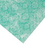 Бумага для скрапбукинга с клеевым слоем «Бирюзовый ампир», 20 × 21,5 см, 250 г/м, фото 3