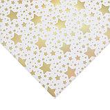 Бумага для скрапбукинга с голографическим фольгированием «Среди звёзд», 20 × 21.5 см, 250 г/м, фото 2