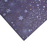 Бумага для скрапбукинга с фольгированием «Сияние ночи», 30.5 × 30.5 см, 250 г/м, фото 2