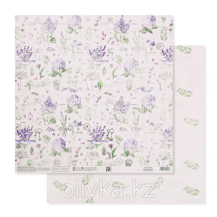 Бумага для скрапбукинга «Прованс», 30.5 × 32 см, 190 гм