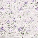 Бумага для скрапбукинга «Прованс», 30.5 × 32 см, 190 гм, фото 3