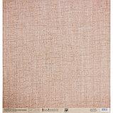 Бумага для скрапбукинга «Холща», 30.5 × 32 см, 190 гм, фото 3