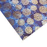 Бумага для скрапбукинга с фольгированием «Хрустальные шары», 30.5 × 30.5 см, 250 г/м, фото 2