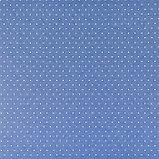 Бумага для скрапбукинга «Синяя базовая», 30.5 × 32 см, 190 гм, фото 2