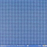 Бумага для скрапбукинга «Синяя базовая», 30.5 × 32 см, 190 гм, фото 3
