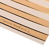 Бумага крафтовая для скрапбукинга с фольгированием «Красота мгновения», 20 × 20 см, 300 г/м, фото 2