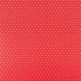 Бумага для скрапбукинга «Красная базовая», 30.5 × 32 см, 180 гм, фото 2