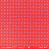 Бумага для скрапбукинга «Красная базовая», 30.5 × 32 см, 180 гм, фото 3