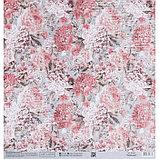 Бумага для скрапбукинга «Винтажные розы», 30.5 × 32 см, 180 гм, фото 3