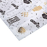 Бумага для скрапбукинга с фольгированием «Мужская», 30.5 × 30.5 см, 250 г/м, фото 2