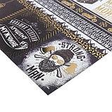 Бумага для скрапбукинга с фольгированием «Для лучшего мужчины», 30.5 × 30.5 см, 250 г/м, фото 2