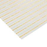 Бумага для скрапбукинга с блёстками «Золотые переливы», 30,5 х 30,5 см, 180 г/м, фото 2