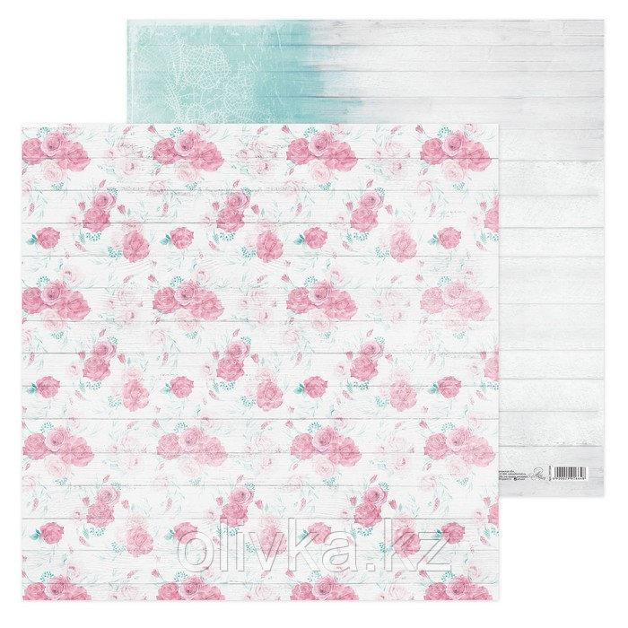Бумага для скрапбукинга «Досочки», 30.5 × 30.5 см, 180 г/м