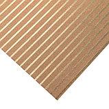 Бумага для скрапбукинга крафтовая с голографическим фольгированием «Полоска», 30.5 × 32 см, фото 2
