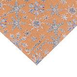 Бумага для скрапбукинга крафтовая с фольгированием «Зимние радости», 30.5 × 30.5 см, 250 г/кв. м, фото 2