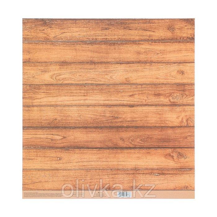 Бумага для скрапбукинга с клеевым слоем «Шебби», 30,5 × 32 см, 250 г/м