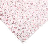 Бумага для скрапбукинга жемчужная «Розовые звезды», 30,5 × 32 см, 250г/м, фото 2