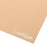 Бумага крафтовая для скрапбукинга с фольгированием «С любовью», 30,5 х 30,5 см, 300 г/м, фото 2