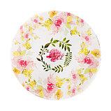 Бумага для творчества «Акварельные цветы», 6 шт, 16 × 16 см, фото 4