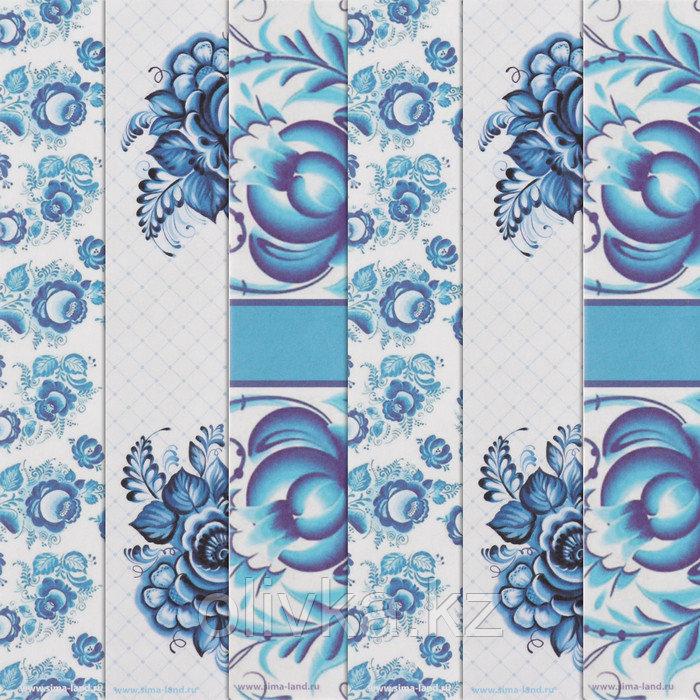 Бумага для творчества «Зимнее удовольствие», 6 шт, 16 × 16 см