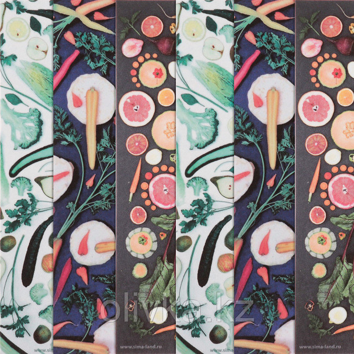 Бумага для творчества «Овощная грядка», 6 шт, 16 × 16 см