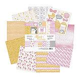 Набор бумаги для скрапбукинга «Моя малышка», 12 листов, 15,5 х 15,5 см, фото 2