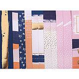 Набор бумаги для скрапбукинга с фольгированием Happy moments, 12 листов 15,5 × 15,5 см, 250г/м, фото 2