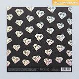 Набор бумаги для скрапбукинга «Оттенки голубого», 10 листов, 15.5 × 15.5 см, фото 8