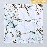 Набор бумаги для скрапбукинга «Оттенки голубого», 10 листов, 15.5 × 15.5 см, фото 10