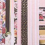 Набор бумаги для скрапбукинга с фольгированием My love, 12 листов 30.5 × 30.5 см, фото 3