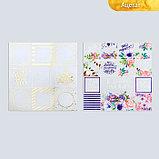 Набор бумаги для скрапбукинга «Карточки», 10 листов, 30.5 × 30.5 см, фото 4