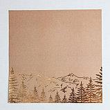 Набор бумаги для скрапбукинга с фольгированием «Поход‒это маленькая жизнь», 12 листов, 30.5 × 30.5 см, фото 6