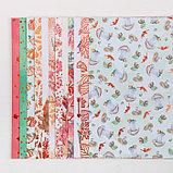 Набор бумаги для скрапбукинга с фольгированием «Мои осенние грёзы», 12 листов, 30.5 × 30.5 см, фото 3