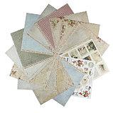 "Набор бумаги для скрапбукинга ""Письма о любви"" 16 листов 30.5х30.5 см,190 гр/м2, фото 2"