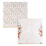 "Набор бумаги для скрапбукинга ""Цветик-семицветик"" 16 шт., 30.5х30.5 см, 190 гр/м2., фото 3"