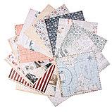 """Набор бумаги для скрапбукинга """"Наутилус"""" 16 листов, 30.5х30.5 см, 190 гр/м2, фото 2"""