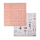 """Набор бумаги для скрапбукинга """"Наутилус"""" 16 листов, 30.5х30.5 см, 190 гр/м2, фото 3"""