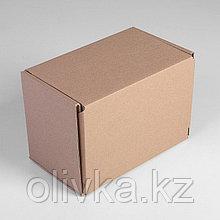 Коробка самосборная 26,5 х 16,5 х 19 см