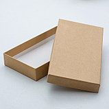 "Набор коробок 5в1 ""Крафт однотонный"", 40 х 30 х 5 - 20 х 10 х 3 см, фото 2"