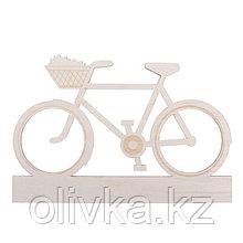 """Заготовка деревянная """"Велосипедная прогулка"""", 28 х 19 х 0,4 см"""
