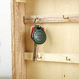 "Ключница дерево под роспись ""С витражными окнами"" 27,5х21,5х5,5 см, фото 4"