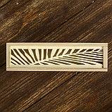 """Шкатулка дерево под роспись """"Пальмовый лист"""" 4х19,3х5,5 см, фото 3"""